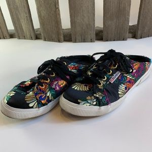 SUPERGA FANTASIA Slip On Sneakers 7.5